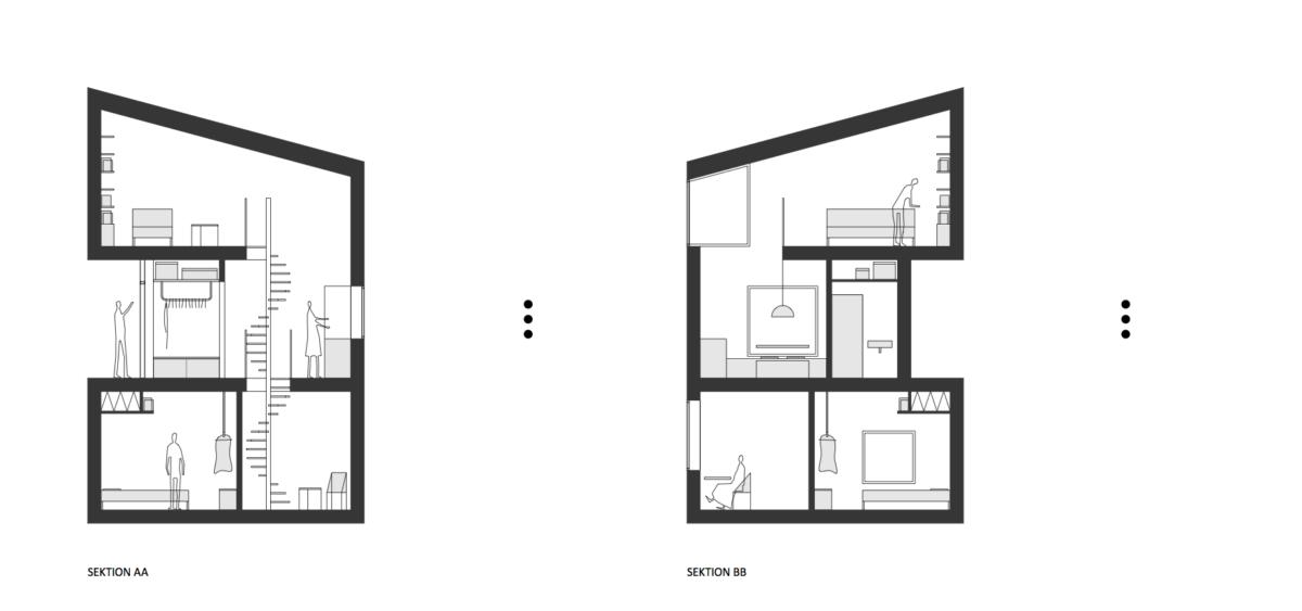 Трехэтажные домики-скворечники